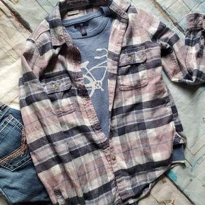 American Eagle AMAZINGLY Soft Flannel Xs